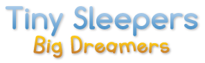 Tiny Sleepers Big Dreamers Sticky Logo