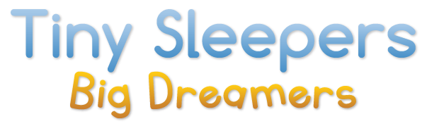 Tiny Sleepers Big Dreamers Sticky Logo Retina